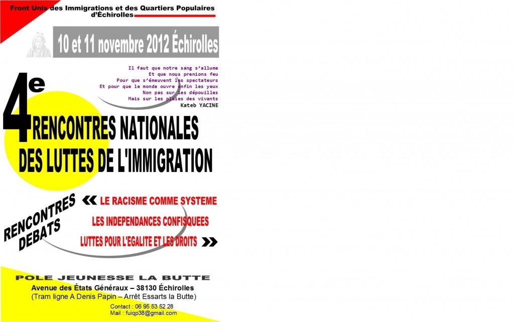 4èmes rencontres des Luttes de l'Immigration. 4-emes-rencontres